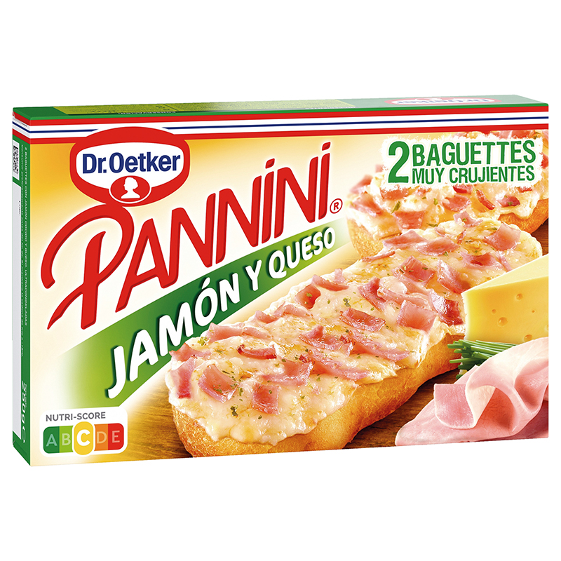 PANINI JAMON Y QUESO