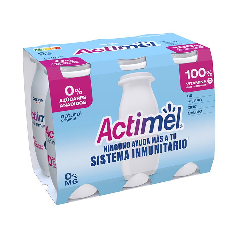 ACTIMEL NATURAL 0%