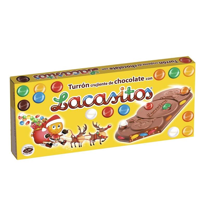 TURRÓN CHOCOLATE LACASITOS