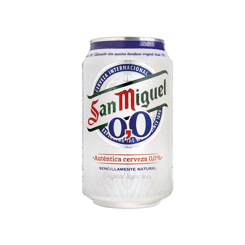 CERVEZA SIN ALCOHOL O,O%