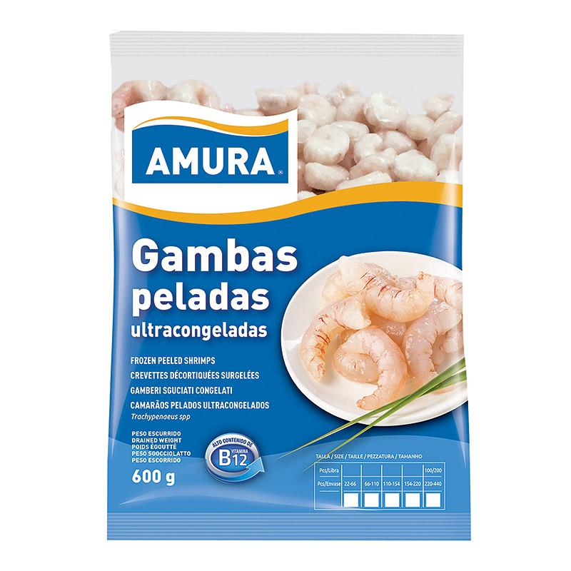 GAMBAS PELADAS ULTRACONGELADAS