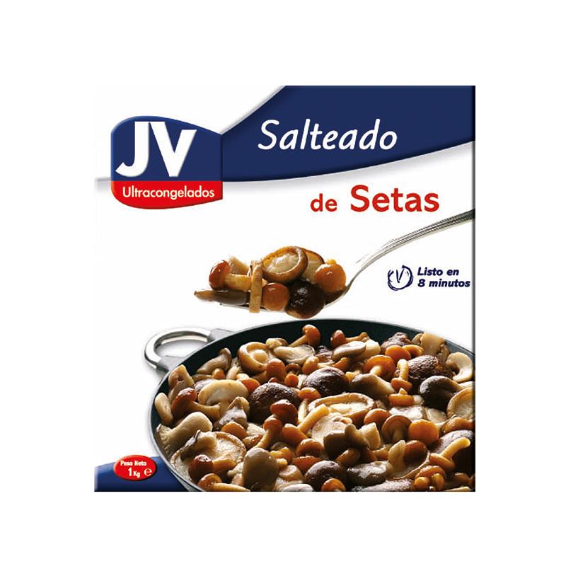 SALTEADO DE SETAS