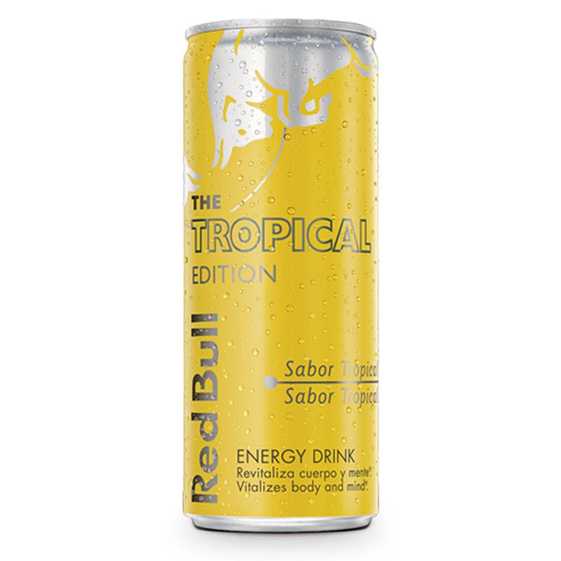 BEBIDA ENERGÉTICA TROPICAL