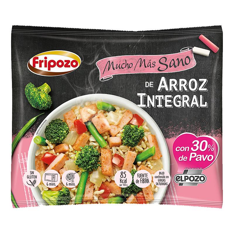 SALTEADO DE ARROZ INTEGRAL