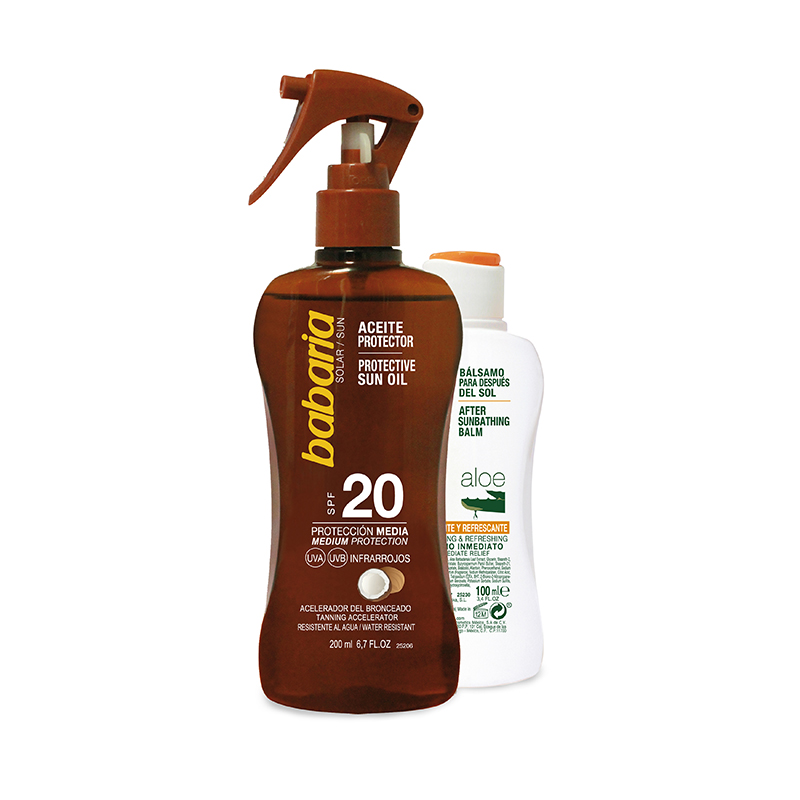 ACEITE PROTECTOR + AFTERSUN