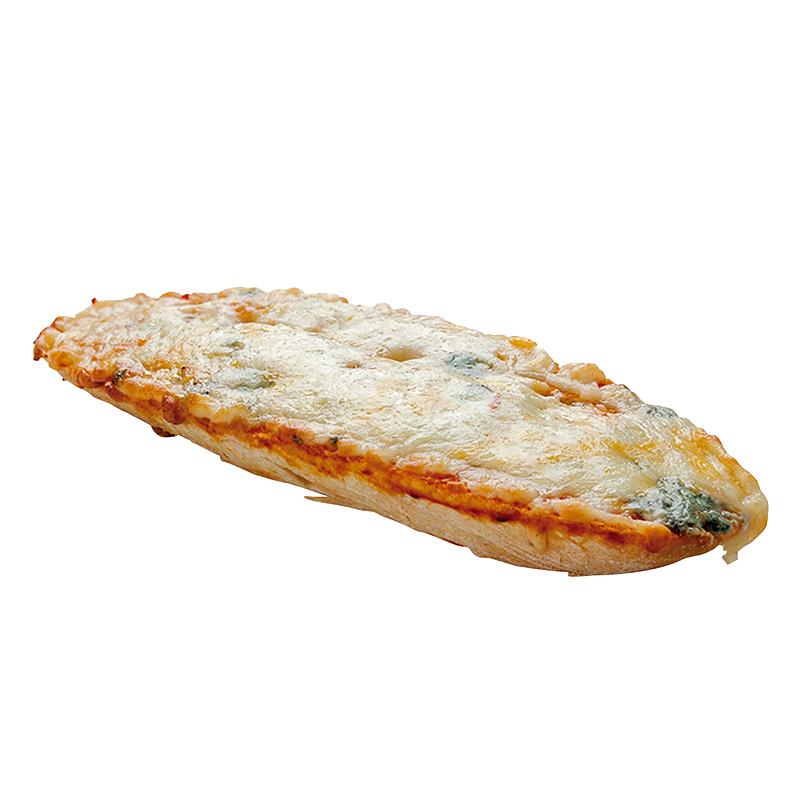 PAN PIZZA DE QUESOS