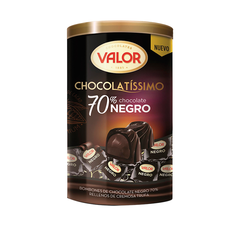 BOMBÓN CHOCOLATE 70%
