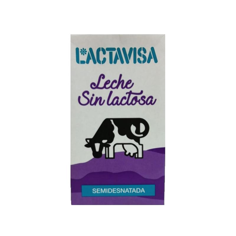 LECHE SEMIDESNATADA S/LACTOSA