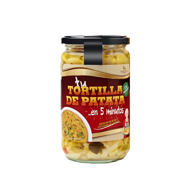 PREPARADO TORTILLA VERDURAS