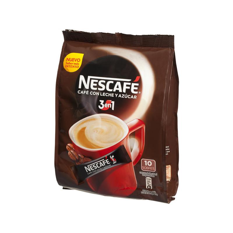 CAFÉ SOLUBLE 3 EN 1