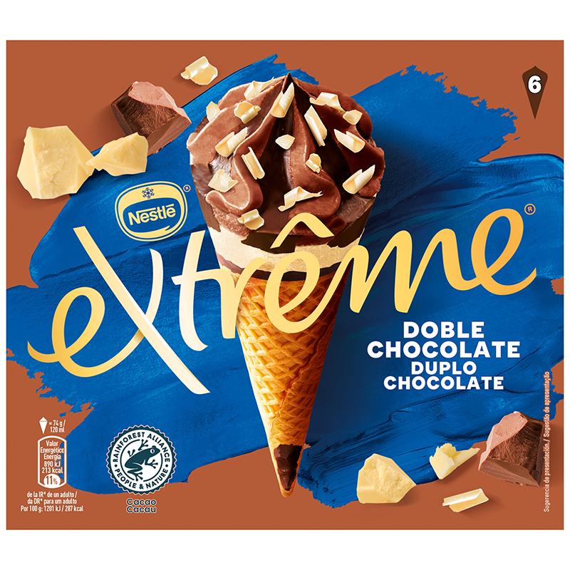 CONO EXTREME 3 CHOCOLATES