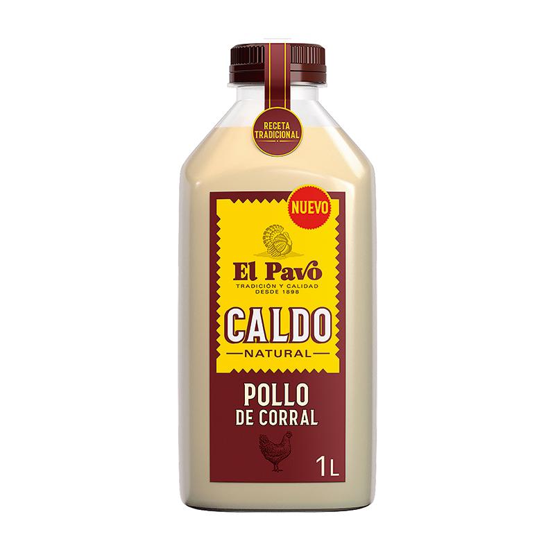 CALDO DE POLLO CORRAL