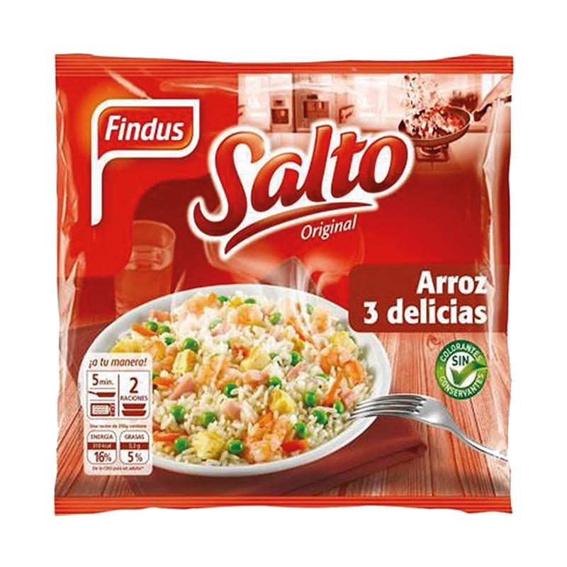 SALTEADO DE ARROZ 3 DELICIAS