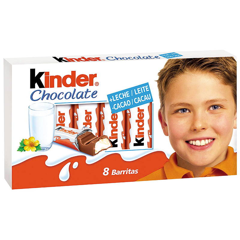 BARRITAS KINDER CHOCOLATE